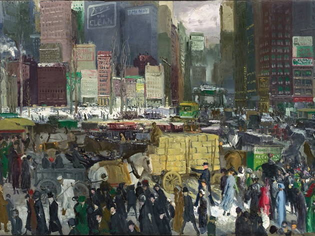 New York, 1911  (the Board of Trustees, National Gallery of Art, Washington )