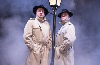 The 39 Steps  (©Tristram Kenton / Cast Stephen Critchlow & Andy Williams)