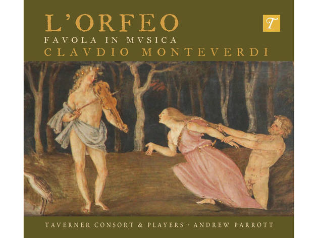 Monteverdi L'orfeo cover art
