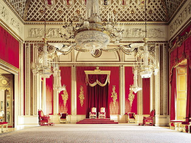 Buckingham Palace The throne room
