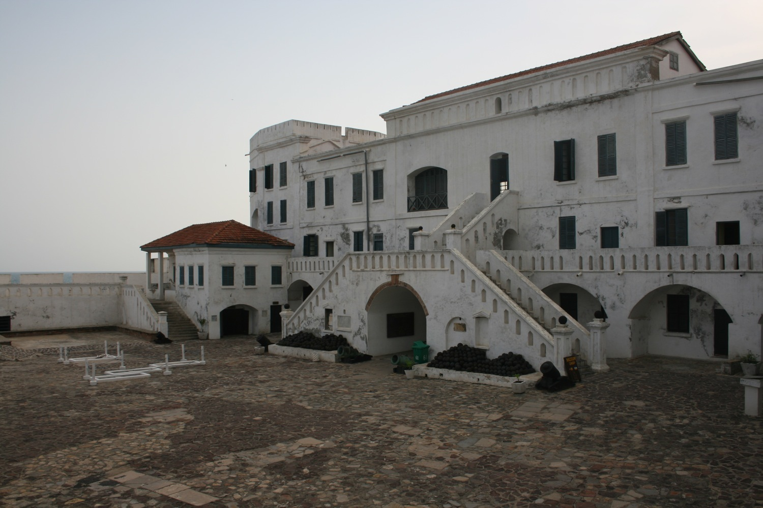 Respect the past at Cape Coast Castle