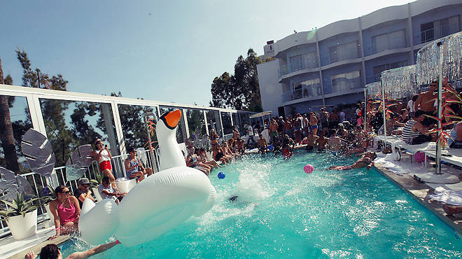 Best pool parties in LA