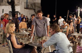 Left to right: Julie Delpy, Richard Linklater and Ethan Hawke of Before Midnight