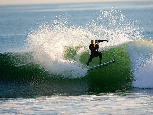 For world-class surf: Rincon Beach
