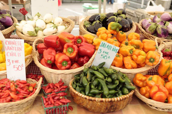 For local bounty: Santa Barbara Farmers Market