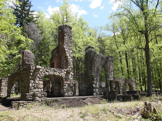 Cold Spring, NY, Northgate ruins on the Cornish Estate Trail