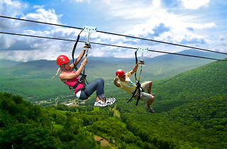 Hunter, NY, New York Zipline Adventure Tours