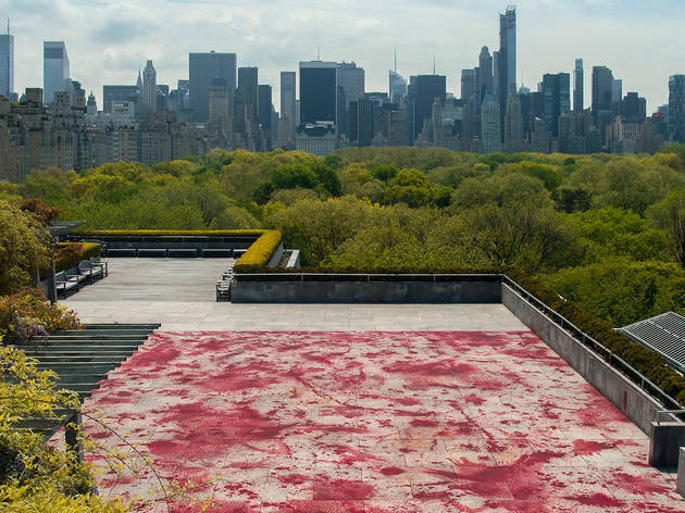 """The Roof Garden Commission: Imran Qureshi"""