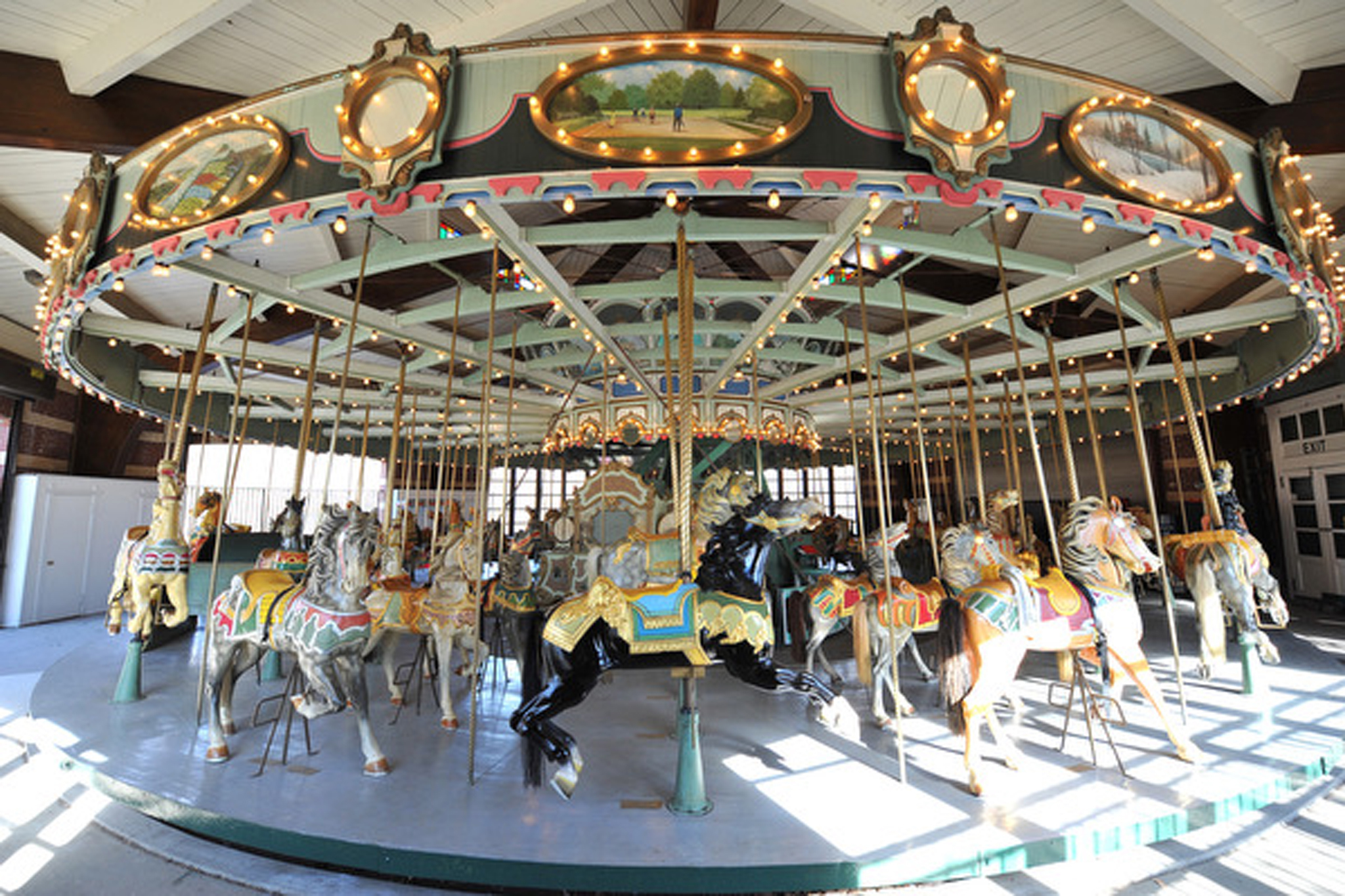 Take a ride on the carousel