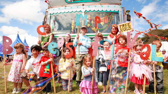 The best family festivals