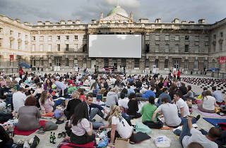 Behind the Screen at Somerset House