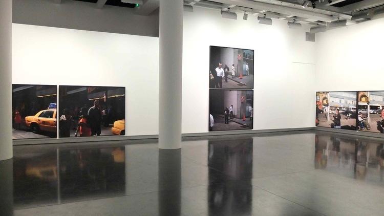 Vue de l'exposition de Paul Graham (2012) / © TB - Time Out