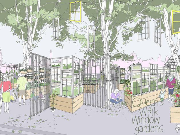 Festival of Neighbourhood: Queen's Walk Window Gardens
