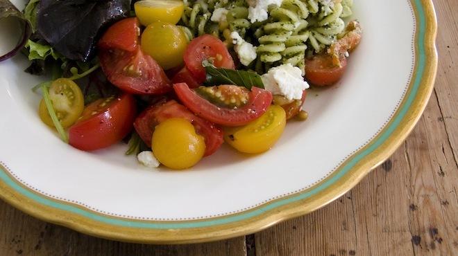 Restos végétariens, bio, sans glute
