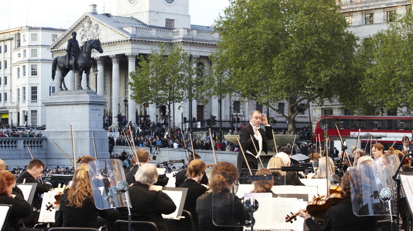 LSO in Trafalgar Square