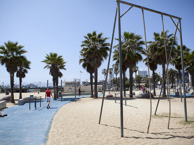 Free workouts: Top circuit training parks in L.A.