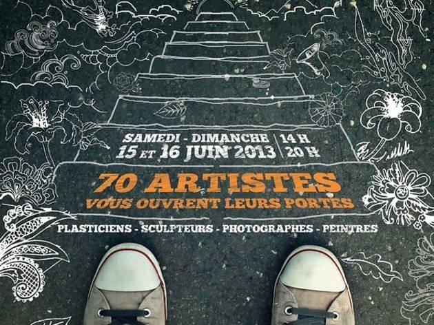 Portes ouvertes des ateliers d'artistes du Pré-Saint-Gervais