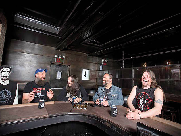 The co-owners of Saint Vitus