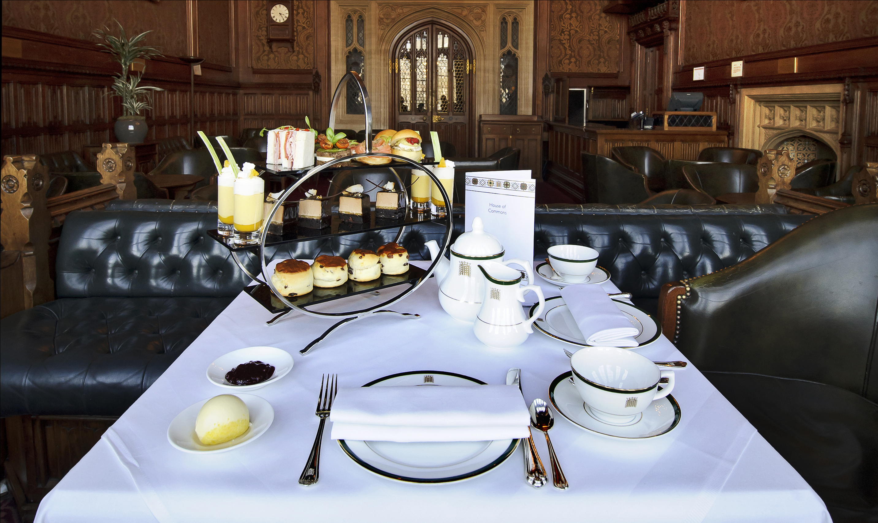 Take afternoon tea at the Houses of Parliament
