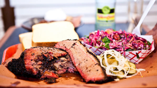 Brisket and sides at BrisketTown