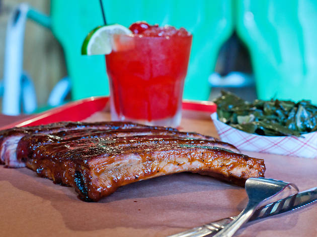 Ribs at Mable's Smokehouse and Banquet Hall