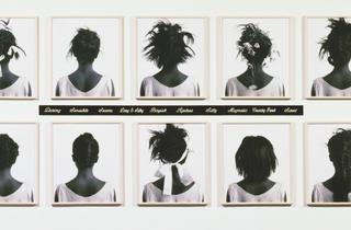 ('Stereo Styles', 1988 / Collection Melva Bucksbaum et Raymond Learsy / © Lorna Simpson)