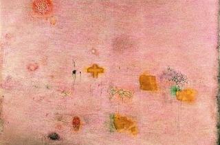 ('Peinture [Ecriture rose]', 1958-1959 / Musée national d'art moderne, Paris / © Adagp, Paris 2013 )