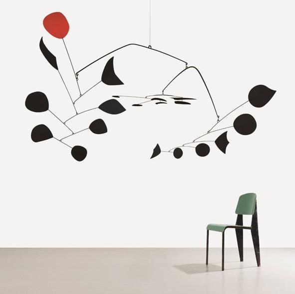 Exposition Calder / Prouvé à la Gagosian Gallery, Le Bourget