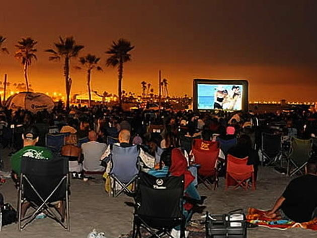 See free movies on the beach