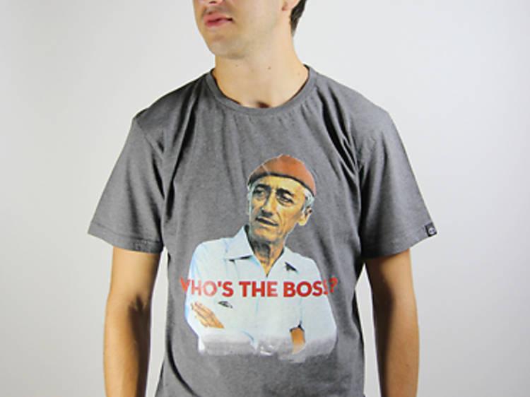 """• Un t-shirt """"Who's da Boss"""" chez Qhuit"""