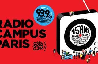 Radio Campus Paris fête ses 15 ans