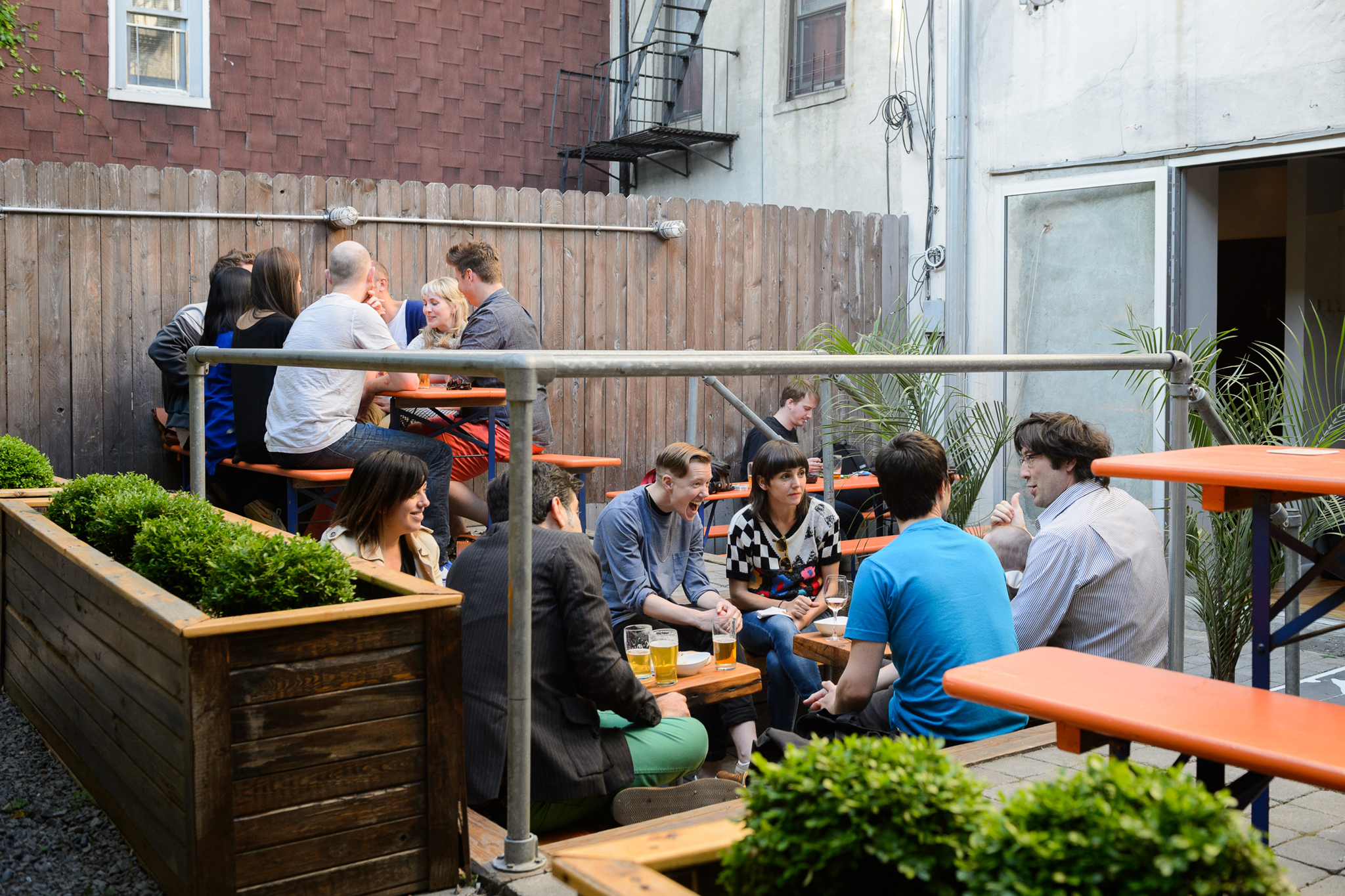 Best bars for day-drinking: outdoor bars where you can hang out