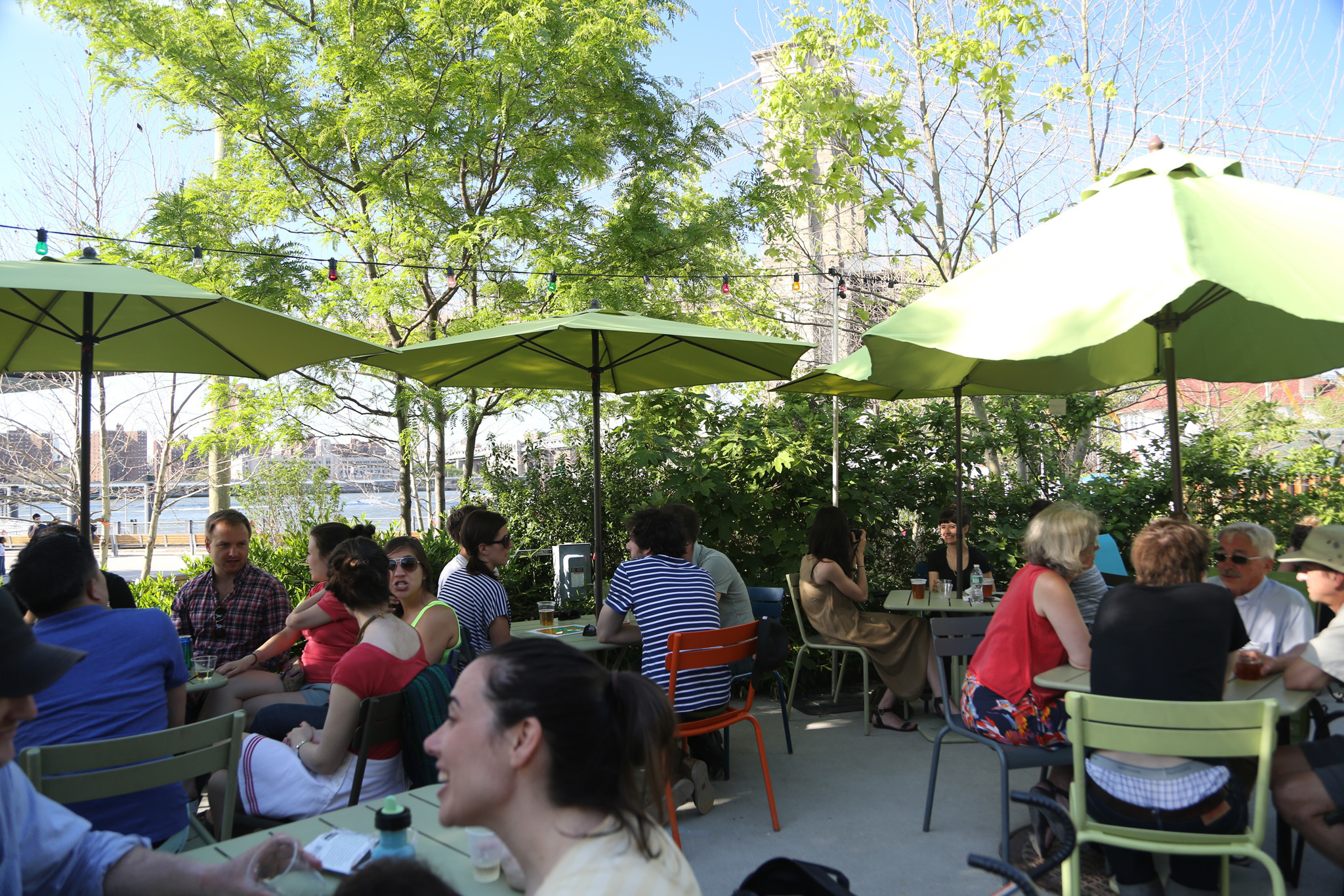 Where to drink in (or near) NYC parks