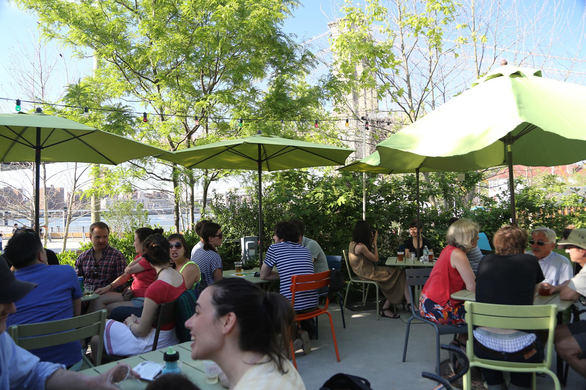 Brooklyn Bridge Garden Bar