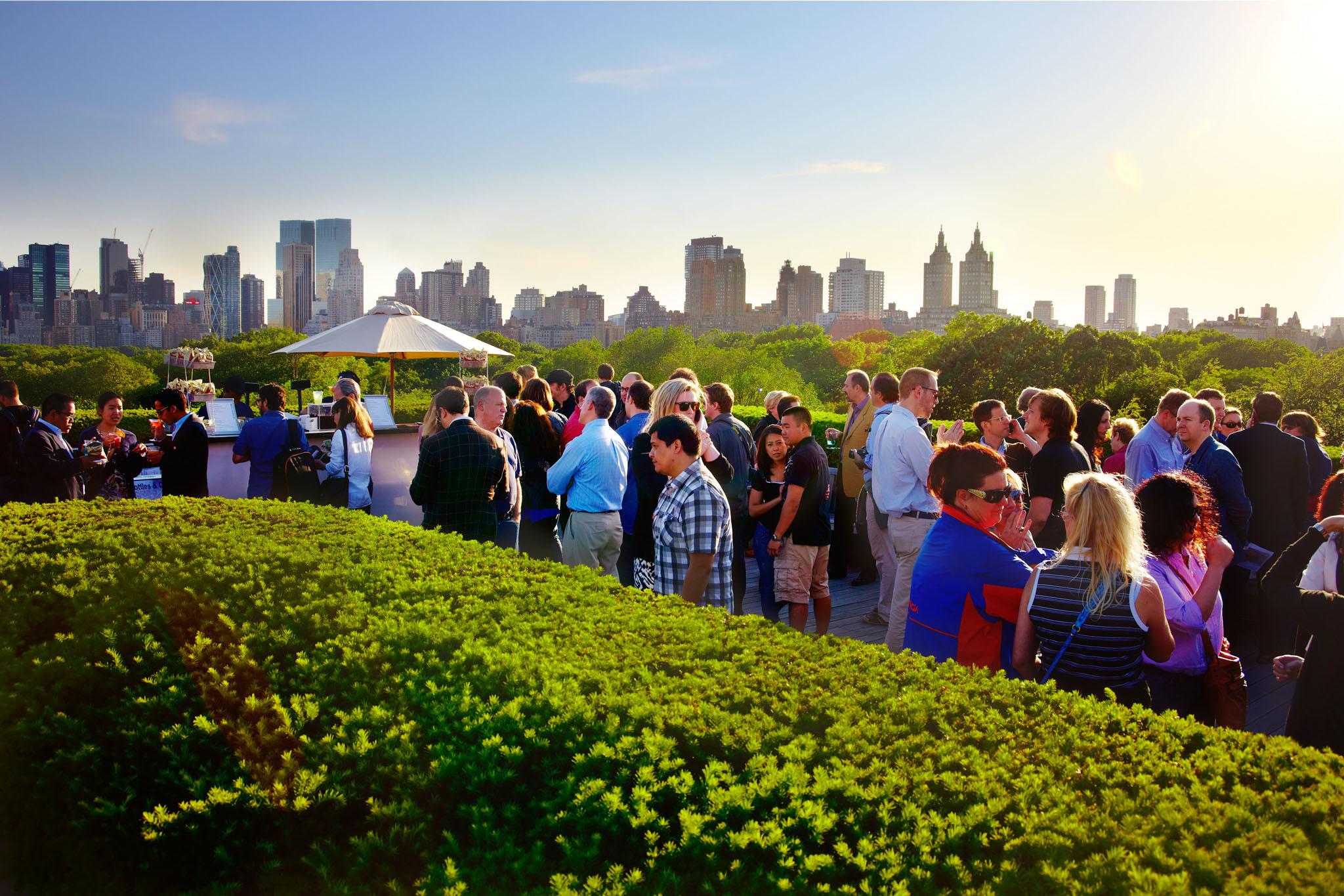 The Metropolitan Museum of Art Roof Garden Café