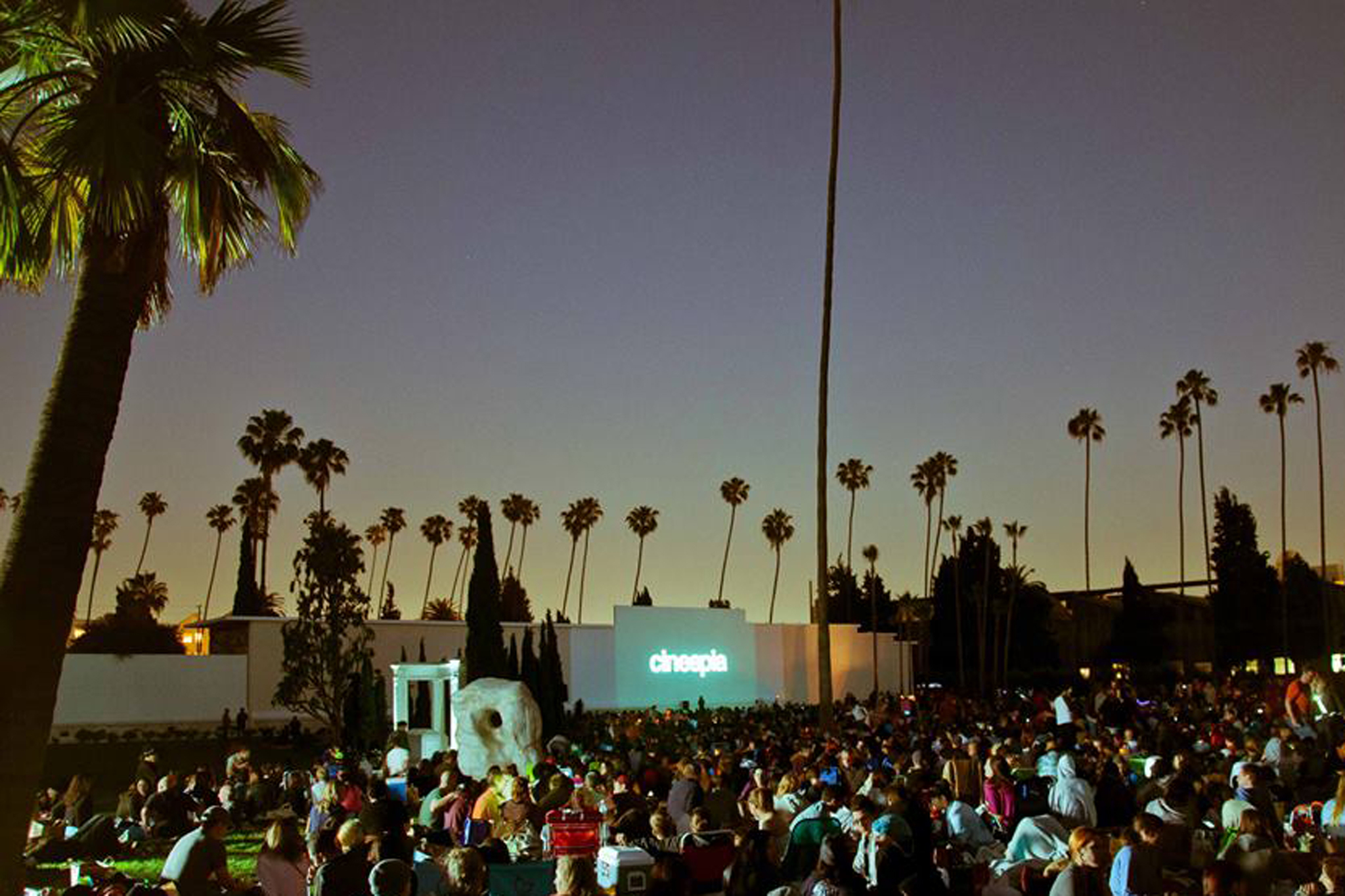 Best open-air places to watch movies in LA