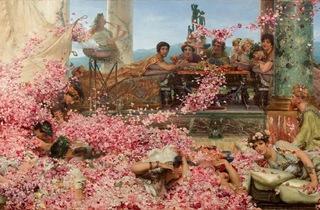 (Lawrence Alma-Tadema, 'Les Roses d'Héliogabale', 1888 / Colección Pérez Simón, Mexico / © Studio Sébert Photographe)