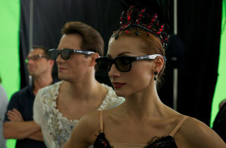 3D swan lake screening, Ekaterina Kondaurova