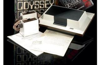 Console Magnavox Odyssey  (USA, version import France, 1974-75. Rarissime toute première version de l'Odyssey importée en France et dont on ne connaît que deux exemplaires / © Millon & associés)