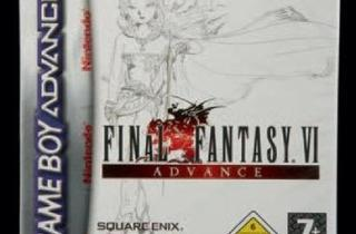 Final Fantasy VI GBA  (Version EUR - 2007 / © Millon & associés)