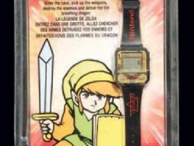Jeu-Montre Nintendo Zelda  (D'époque, neuf sous blister rigide - 1991 - RARE / © Millon & associés)