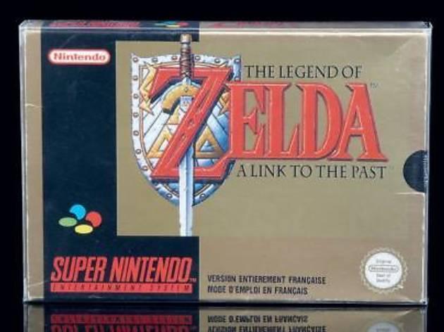 The Legend of ZELDA (A Link to the Past - Version FAH (FR) 1992 / © Millon & associés)