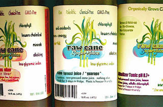 Raw Cane Super Juice Bar
