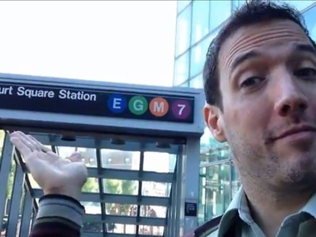 Watch comedian Rob Paravonian's tribute to the G train (video)