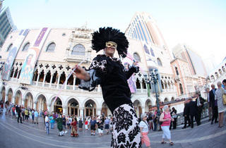 Carnevale at The Venetian and The Palazzo.