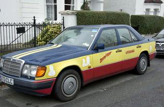Baywatch Car in Dulwich