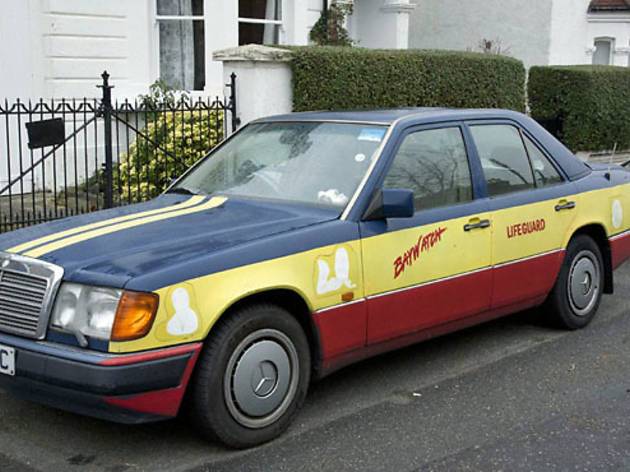 Baywatch Car in Dulwich
