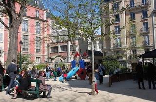(Square Léopold-Achille / © C. Griffoulières - Time Out Paris)