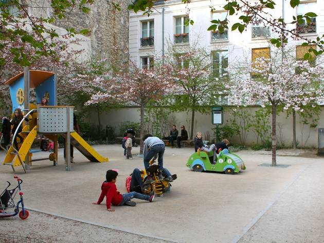 (Jardin Anne Franck - © C. Griffoulières / Time Out Paris)