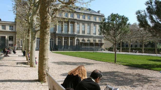 Jardin des archives nationales 87 rue vieille du temple for Jardin 122 rue des poissonniers